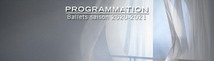 Programmation ballets saison 2018-2019